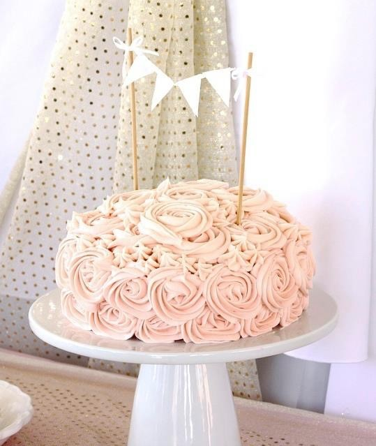 Pink And Gold Baby Shower Sincerely Jean