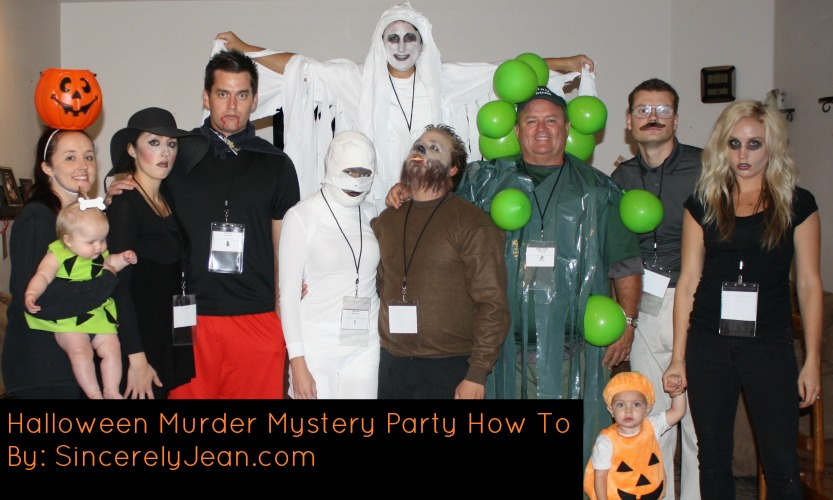 How to throw a Halloween Murder Mystery Party