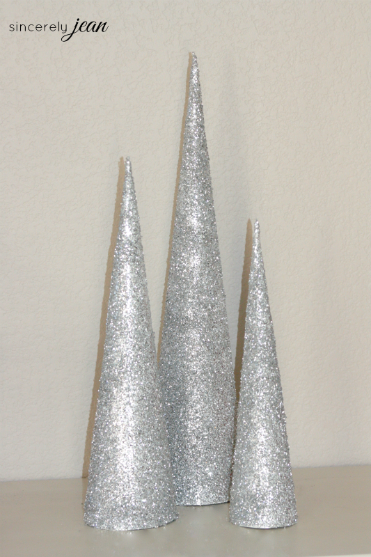 Diy Cone Christmas Trees.Diy Cone Christmas Tree Page 2 Of 2 Sincerely Jean