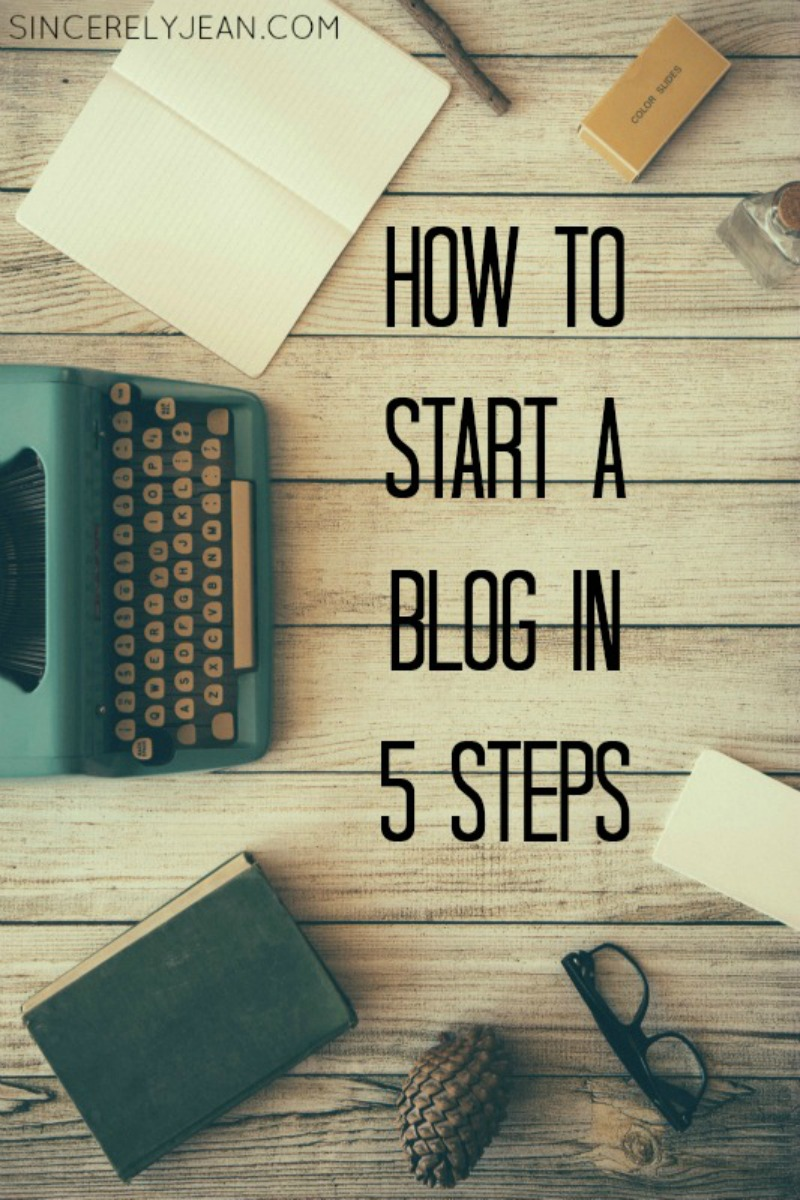 How to Start a Profitable Blog - Step-by-step guide to setting up a WordPress Blog on Bluehost! | www.sincerelyjean.com