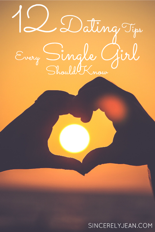 single girl dating tips February 14th is a nice excuse to see if your crush is into you too take this quiz to find out if you should pop the v-day question by kara mcgrath dating advice feb 14, 2018 presented by maybelline 11 reasons being single on valentine's day is actually the best for one, your wallet won't take a hit by noelle devoe.