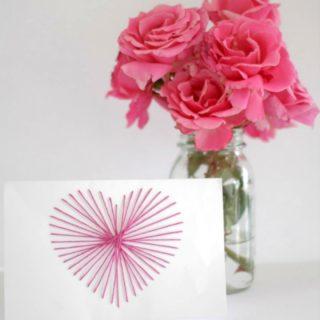 String art card