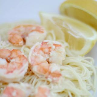 Easy 5 Ingredient Shrimp Scampi 2 - square