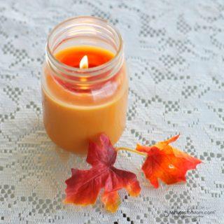 Simple DIY candle by SincerelyJean.com!