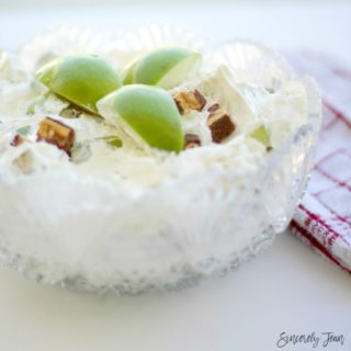SincerelyJean.com brings you a three ingredient dessert - Snickers Apple Salad!
