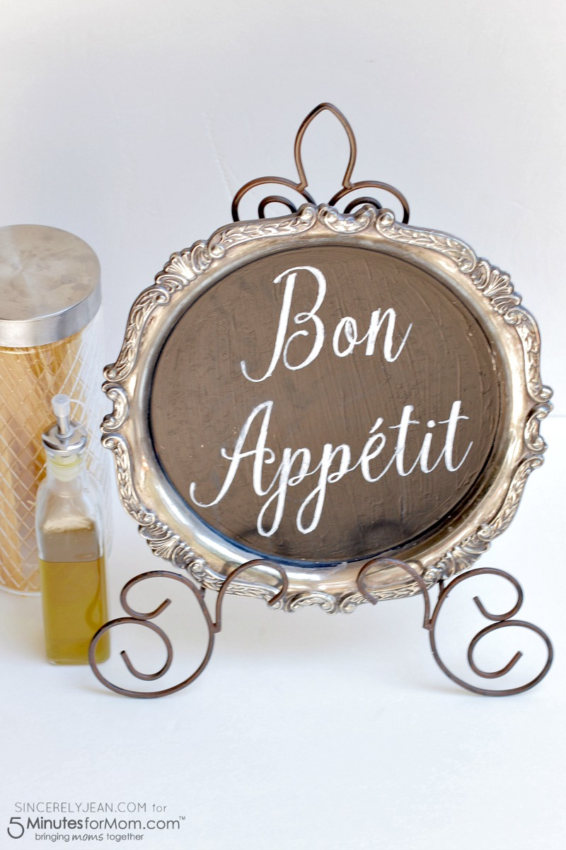 Charmant DIY Bon Appetit Kitchen Sign   Simple Home Decor Tutorial! |  Www.SincerelyJean.