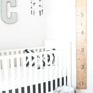 diy height ruler insta