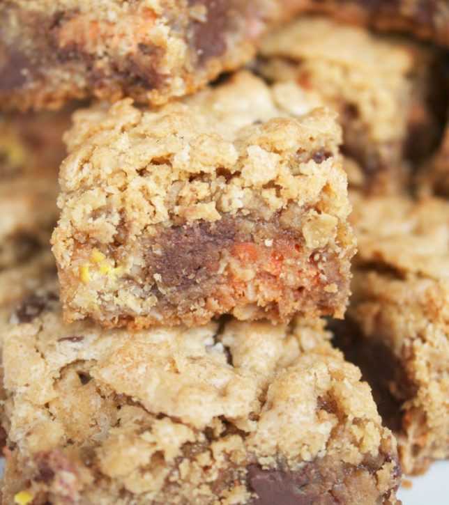 Monster Cookie Bars -with a twist-