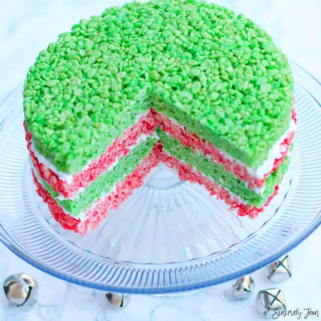 Rice Krispies Holiday Cake